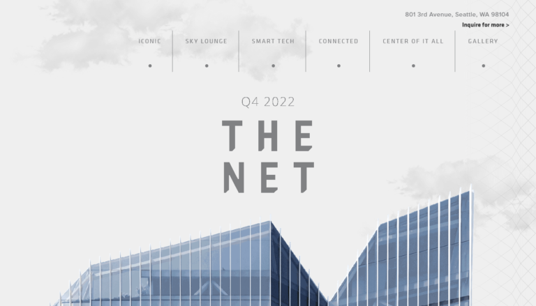 The Net SeattleScreenshot